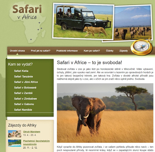 Safarivafrice - Home Page