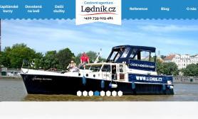 Lodnik.cz - programátorské a obsahové úpravy webu