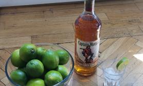 AIRA Karibská párty a Captain Morgan