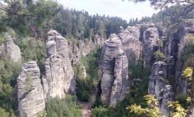 AIRA voda 2017 a výlet na Prachovské skály