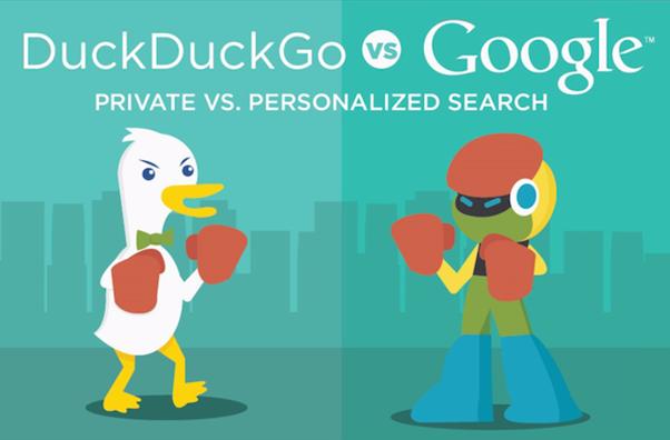 Poznejte TOP 5 hlavních rozdílů mezi vyhledávači Google a DuckDuckGo.