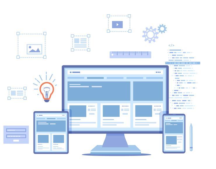 responsivní web