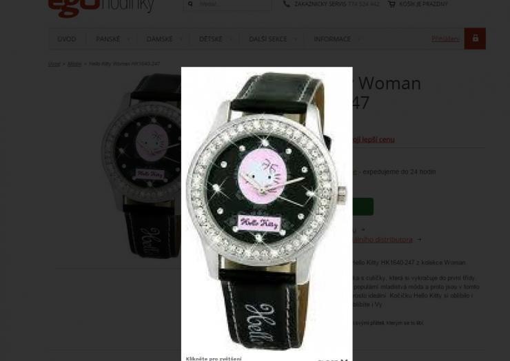 Rozmazané hodinky