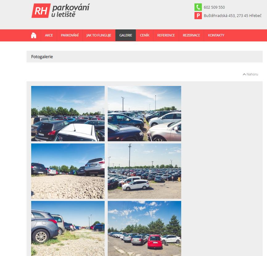 AIRA | firemní focení - RH – parkování u letiště s.r.o.