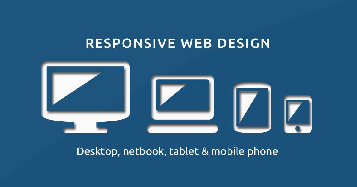 responzivní web optimalizovaný pro mobily